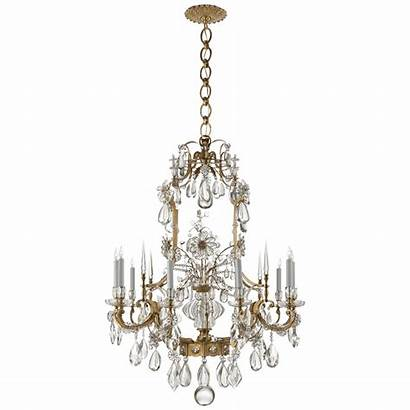 Chandelier Vestry Ceiling Circa Lighting Crystal Antique