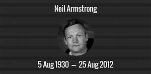 Neil Armstrong death anniversary