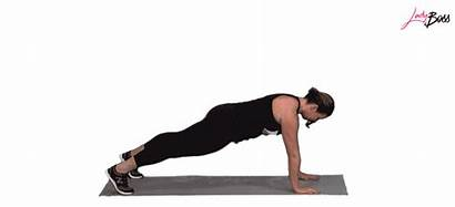 Tabata Shoulder Plank Taps Workout Ladyboss Intensity