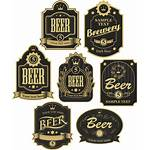 Beer Label Icon Sticker Hq Fioriture Labels