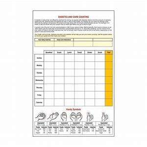 Diabetic Carb Counter Chart Printable Counting Carbs