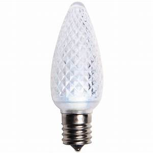 Holiday Time Rope Lights C9 Cool White Led Christmas Light Bulbs