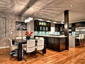 inspirational modern kitchen and dining room design 47 in With kitchan room of desighn in hd