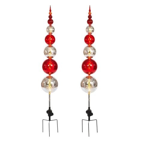 christmas light spheres home depot home accents holiday 56 in battery operated plastic ball
