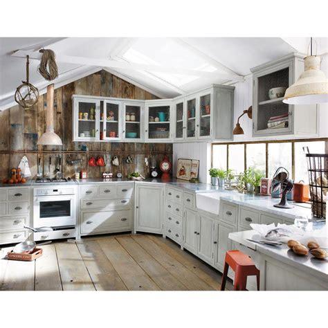 mobile con lavello cucina mobile basso da cucina grigio in acacia con lavello l 120