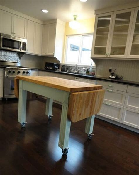 kitchen mobile island portable kitchen islands they make reconfiguration easy 2308