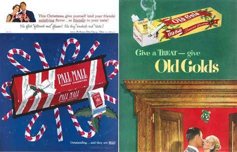 cigarettes  santa vintage tobacco christmas