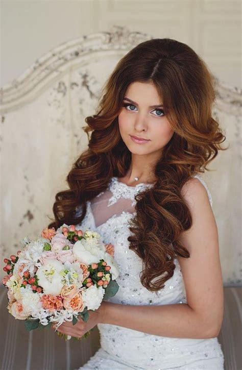 stylish bridal wedding hairstyle 2014 2015 for brides and