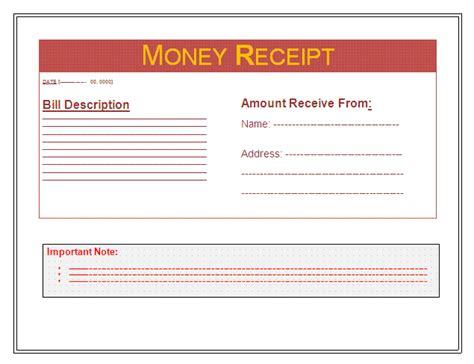 sheets  receipts  business templates part
