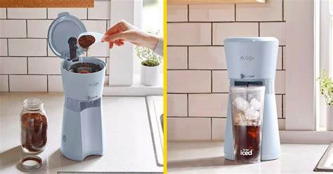Using is simple and easy and will work perfectly with loose leaves or tea bags. This New Iced Coffee Maker By Mr. Coffee Lets You Make Perfect Iced Coffees At Home