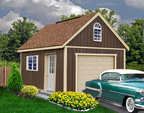 Glenwood Garage Kit  Wood Garage Kit By Best Barns