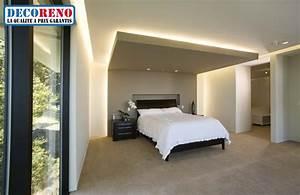 choisissez l39 eclairage led pour votre chambre a coucher With eclairage chambre a coucher