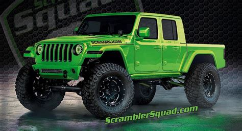 upcoming jeep truck gladiator  modded   virtual world carscoops