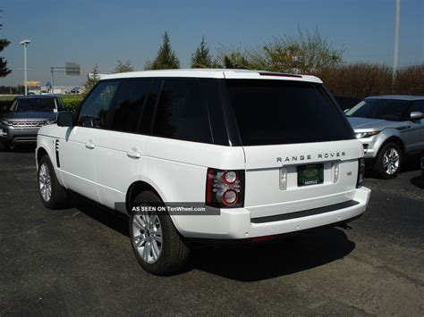 2012 Land Rover Range Rover Hse Price Specs Features