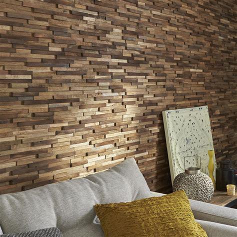 plaquette de parement pour cuisine plaquette de parement bois recyclé boho leroy merlin