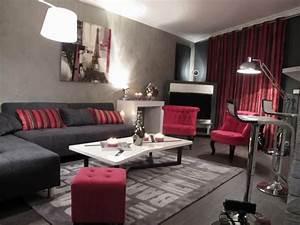 Salon Gris Et Rose : s jour rose et gris d co sophie levitte home pinterest d tvs and roses ~ Preciouscoupons.com Idées de Décoration