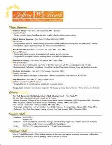 jeffrey french resume With french cv template
