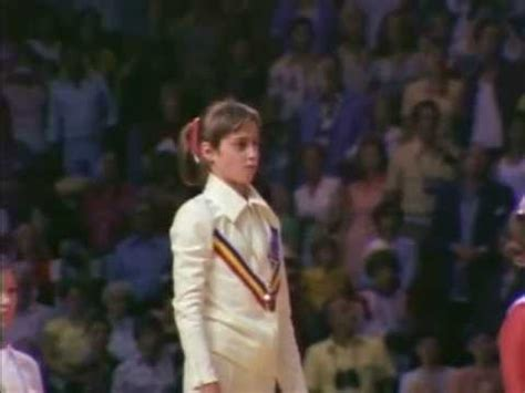 Comaneci Floor Routine by Comaneci Olympic Gold Part 2