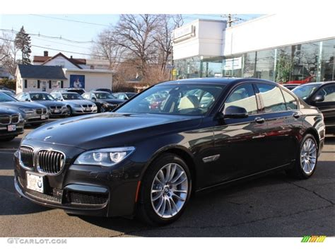 2013 Dark Graphite Metallic Ii Bmw 7 Series 740i Sedan