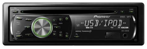 pioneer deh 2200ub cd receiver with ipod direct and usb input vehicle cd