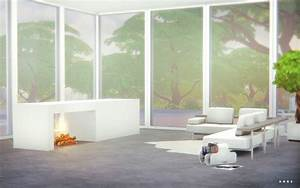 Modern, Fireplace, An, Object, By, Alachie, And, Brick