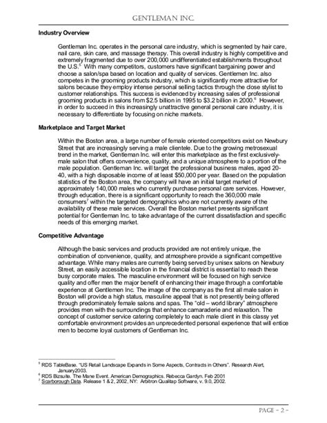 Student Project: Business Plan Competition Entry in Spring ...
