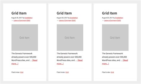 css grid template css grid columns in genesis