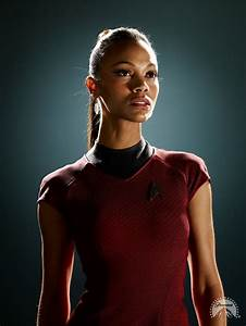 Zoë Saldaña as Uhura images Saldana_Uhura HD wallpaper and ...