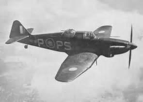British WW2 Fighter Planes