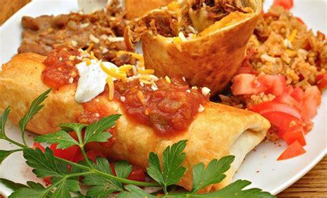 menu cuisine az chimichangas de cerdo asado ú diario