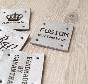 sewing labels custom leather labels personalized leather With embroidery labels sewing