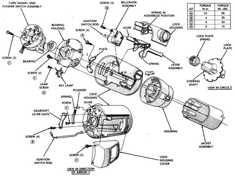 84 Chevy Steering Column Wiring Diagram by 2011 F250 Steering Column Parts Diagram