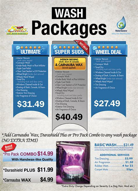 Boat Detailing Flyers by Car Wash Packages Automotive Boat Rv Motorcycle Detailing