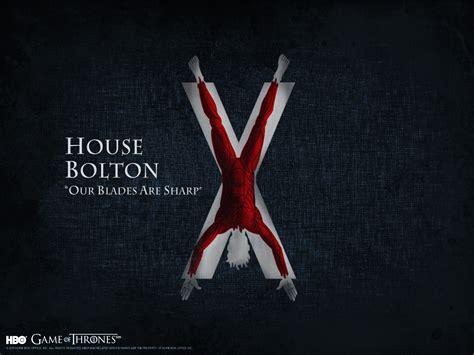 house bolton game  thrones wallpaper  fanpop