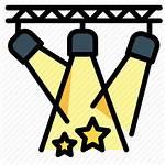 Stage Icon Plot Icons Spotlight Lights Spotlights