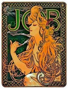 Papier Peint Art Nouveau : la lune et les toile the moon and stars alphonse mucha ~ Dailycaller-alerts.com Idées de Décoration
