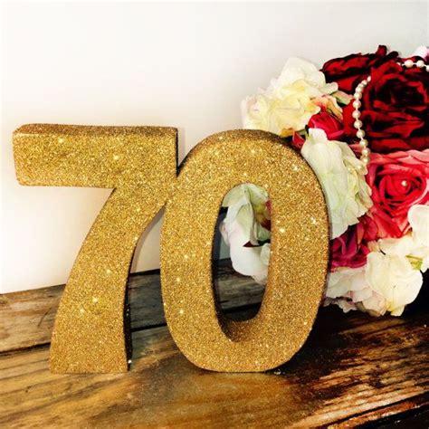 large 70th birthday anniversary number 70th birthday decoration large glitter number birthday