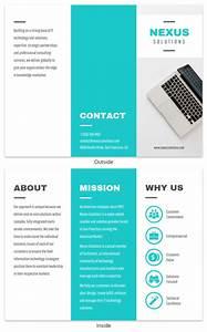 Word Template Brochure Tri Fold Pamphlet Maker For Non Designers Online Pamphlet Maker