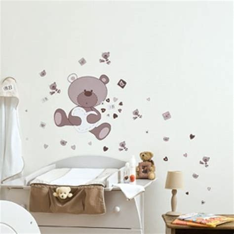 stickers chambre bébé ourson stickers chambre bebe ourson