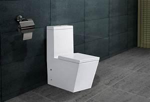 Klo Mit Spülkasten : design stand wc eckig sp lkasten mit nano beschichtu ng ~ Articles-book.com Haus und Dekorationen