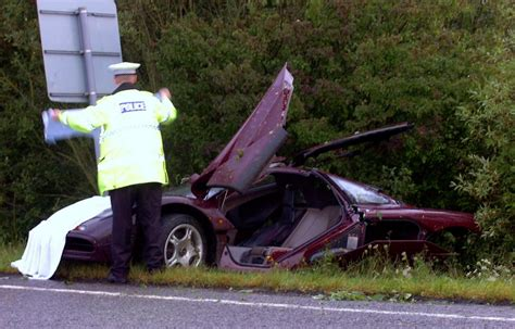 Rowan Atkinson's Crashed Mclaren F1 Supercar Costs