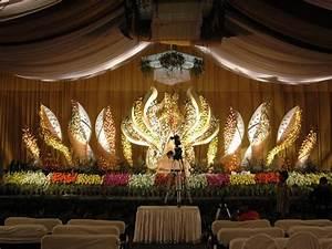 Church anniversary stage decoration, wedding stage ...
