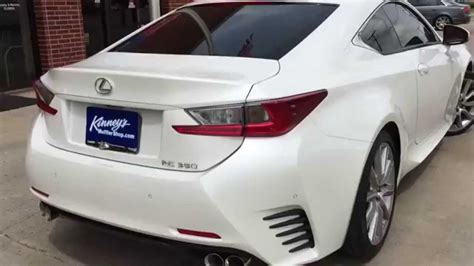 custom lexus rc 350 2015 lexus rc 350 street demon performance exhaust by