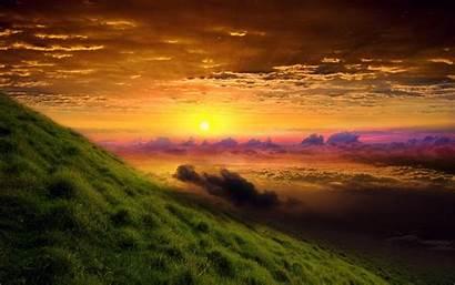 Nature Wallpapers Sunrise Amazing Glory Backgrounds Worship