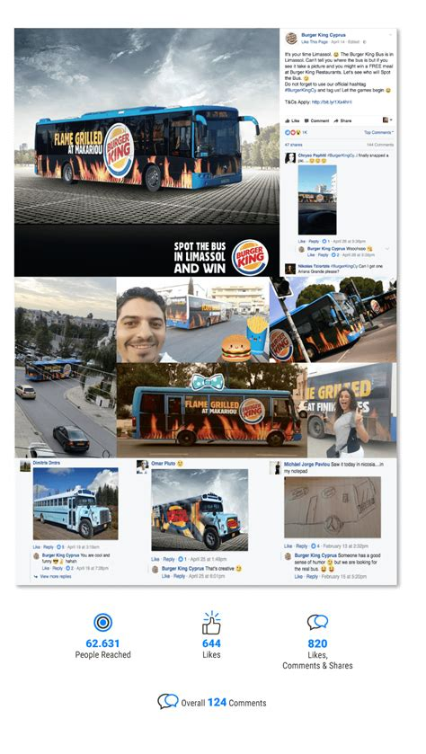 burger king siege social social media management for burger king cyprus opium