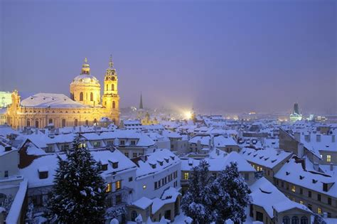 czech republic enjoying prague   winter
