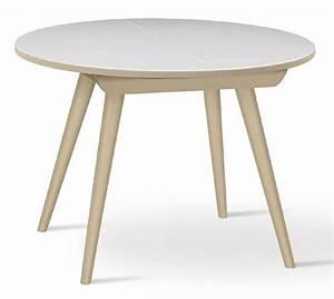 Runder Tisch Buche : runder tisch aus massiver buche ausziehbar f r k che idfdesign ~ Indierocktalk.com Haus und Dekorationen