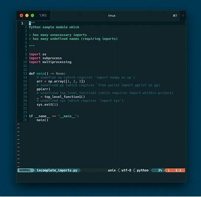Vim Enriching Python Coding