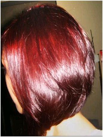 mix henna  burgundy color hair add  color