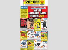Harbor Freight coupons 20% off a single item & more at